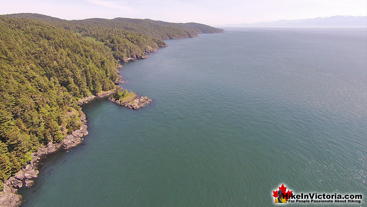 East Sooke Park Aerial View