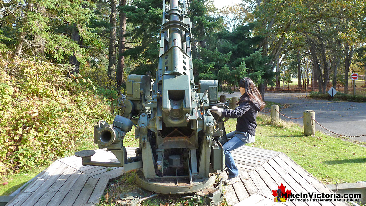 Fort Rodd Hill AntiAircraft Gun