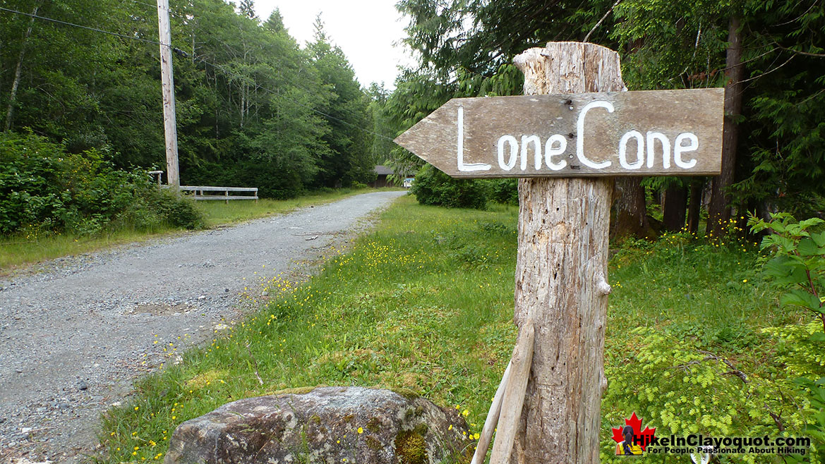 Lone Cone Trail Sign