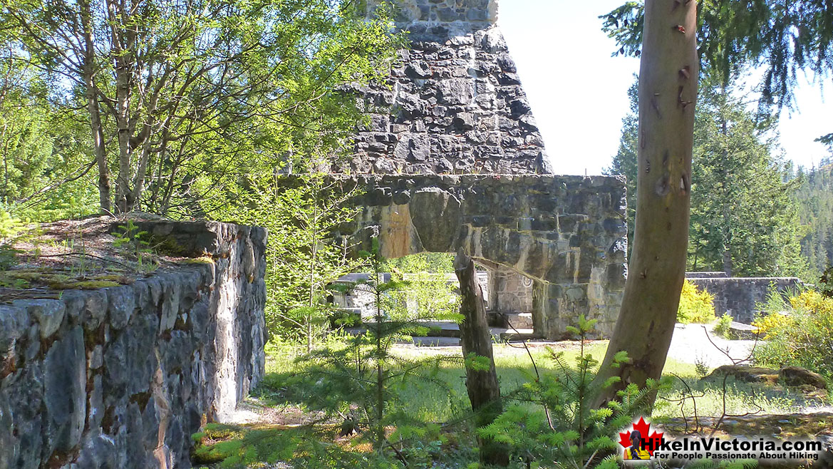 Sooke Potholes Fireplace Ruin