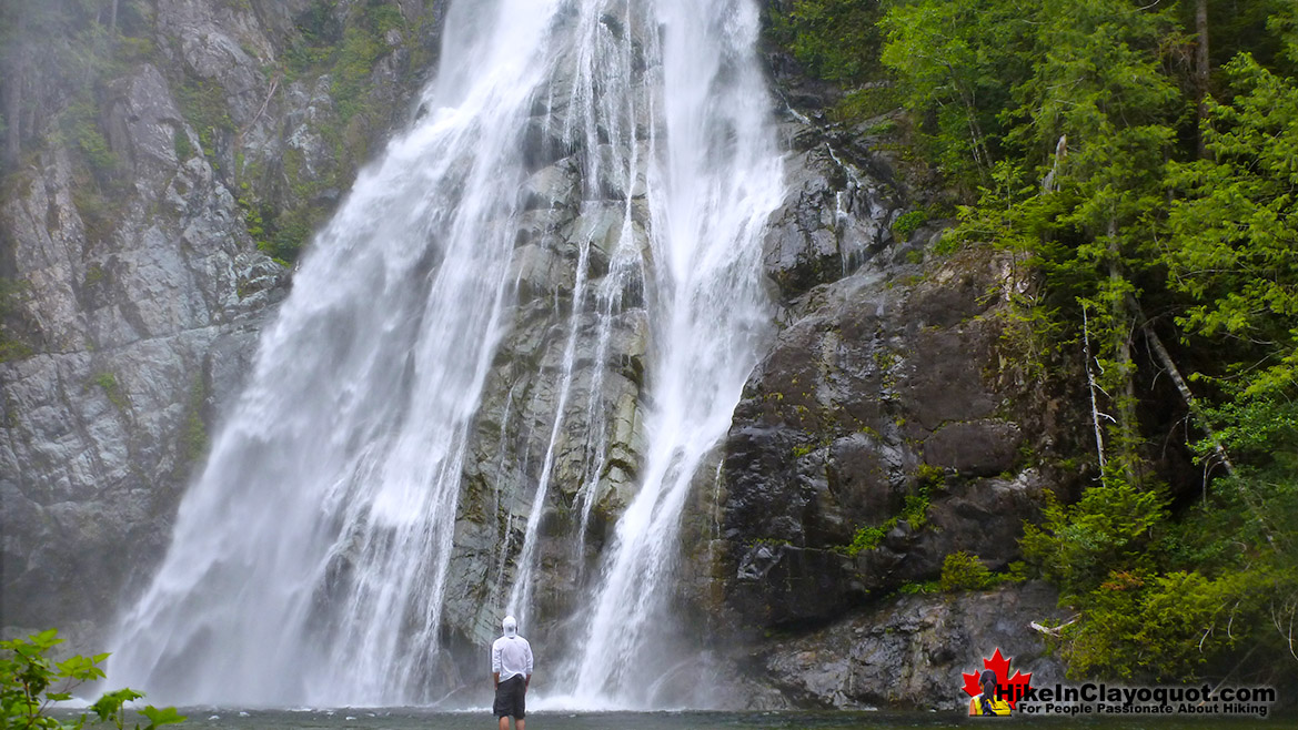 Virgin Falls Hike in Clayoquot