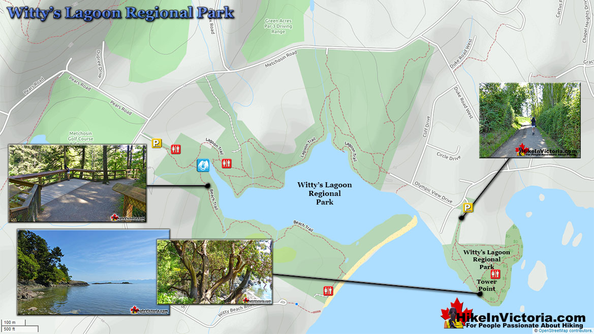 Witty's Lagoon Regional Park Map